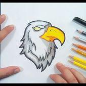 Como dibujar un aguila paso a paso 7 | How to draw an eagle 7
