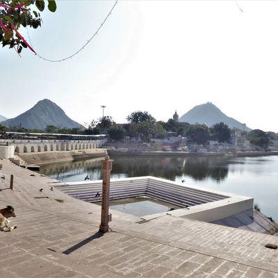 Pushkar (1) ... Une première ville indienne comme je me l'étais imaginée !