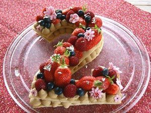 Number cake (tarte chiffres)