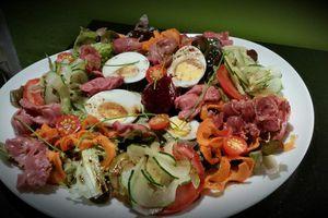 Salade de Gésiers de poulet