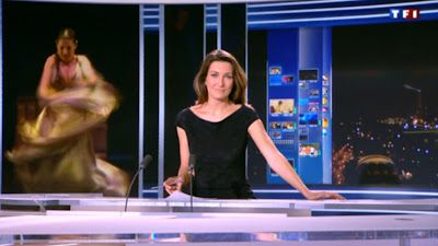 2012 12 28 - ANNE-CLAIRE COUDRAY - TF1 - LE 20H @20H00