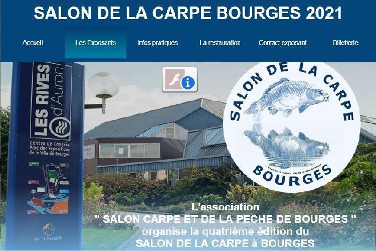 SALON DE LA CARPE A BOURGES DU 5, 6 ET 7 MARS 2021. Maintenu, pour l'instant donc profitons-en !