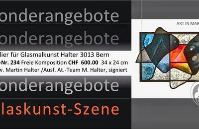 Sonder-Verkaufsangebote für Glasmalerei aus erster Hand - Martin Halter Atelier in Bern
