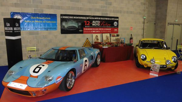 Le Club Roquefortois Autos et Motos de Collection au FRENCH RIVIERA CLASSIC CAR SHOW NICE