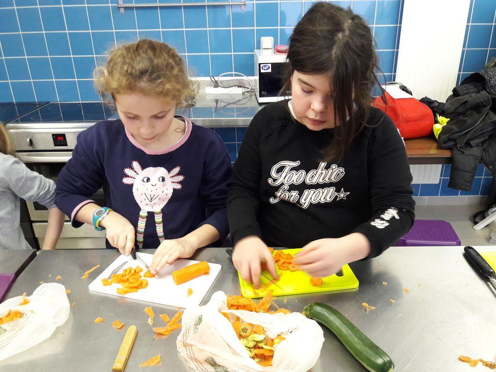Ateliers soupes  solidaires sur les périscolaires!