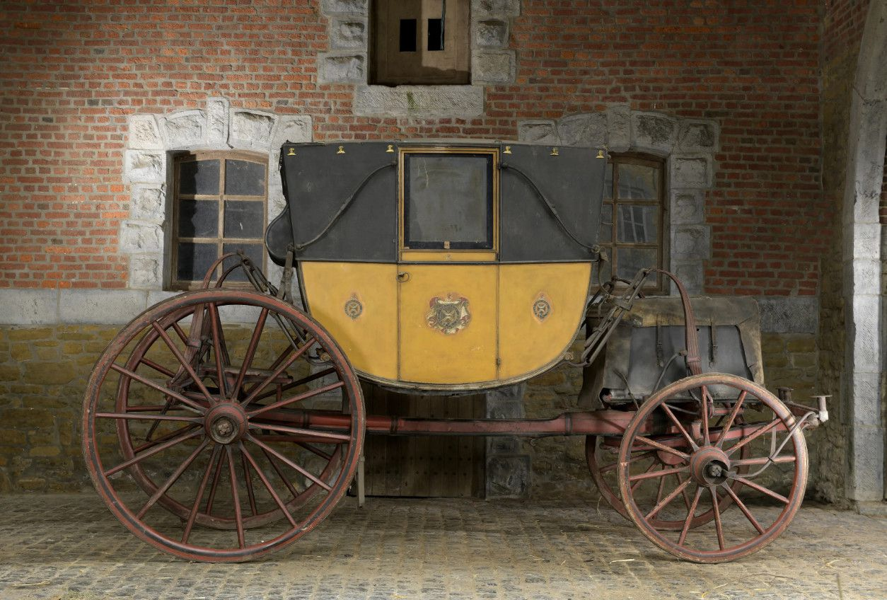 Berline de voyage de la famille Salway construite par Baker à Londres