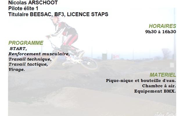 Le BMXC15 propose un Stage BMX jeudi 18 février a Aurillac !