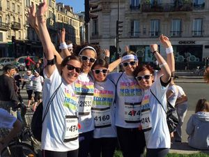 J'ai participé à la Color Run 2015 !