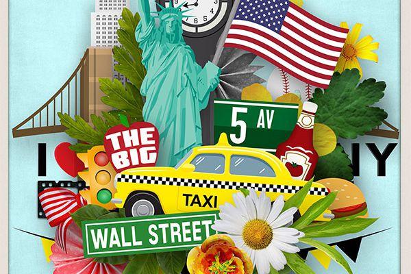 "FREE - quick page avec ""New York, New York"" de Sarayane"