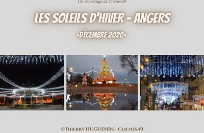 Les illuminations angevines - Noel 2020