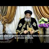 Papal Message, Christmas 2017, French