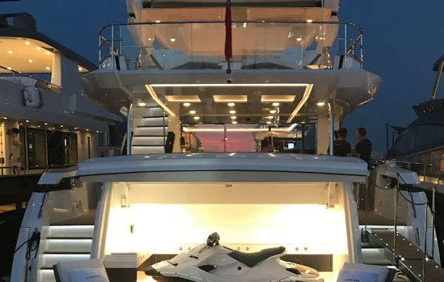 Pearl 95 Worldwide Debut at the Monaco Yacht Show 2018