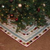 Piece N Quilt: Christmas Tree Skirt tutorial