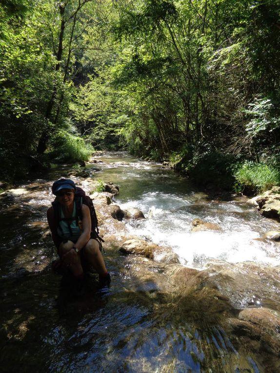 Randonnée le long de la Gervanne en direction de la célèbre Chute de la Druise