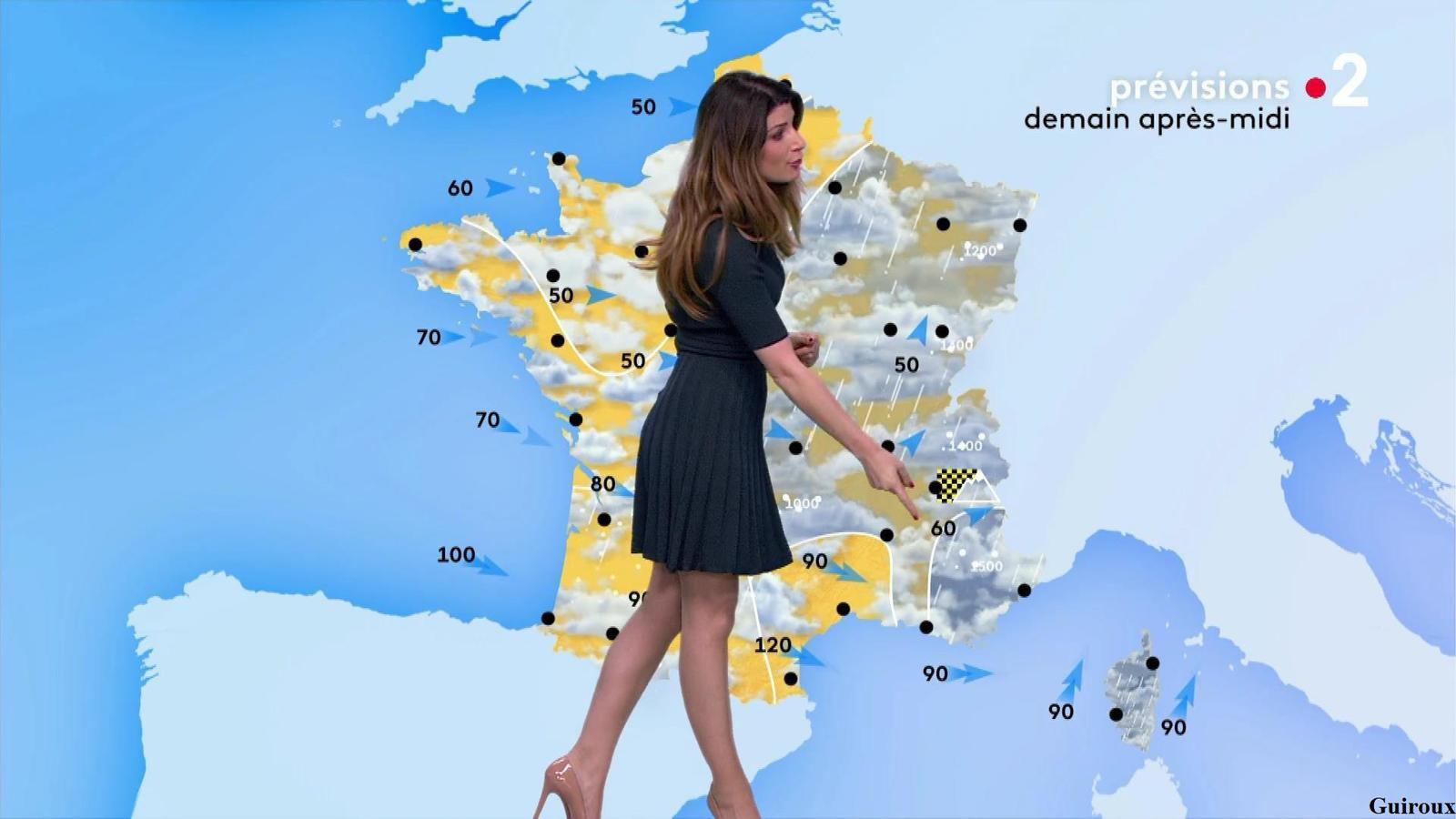 Chloé Nabédian 21/01/2021 Journaux météo du soir