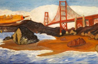 """THE GOLDEN GATE BRIDGE """