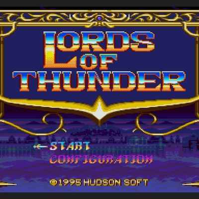 Maxou's Review #2 : Lords of Thunder (MegaCD)