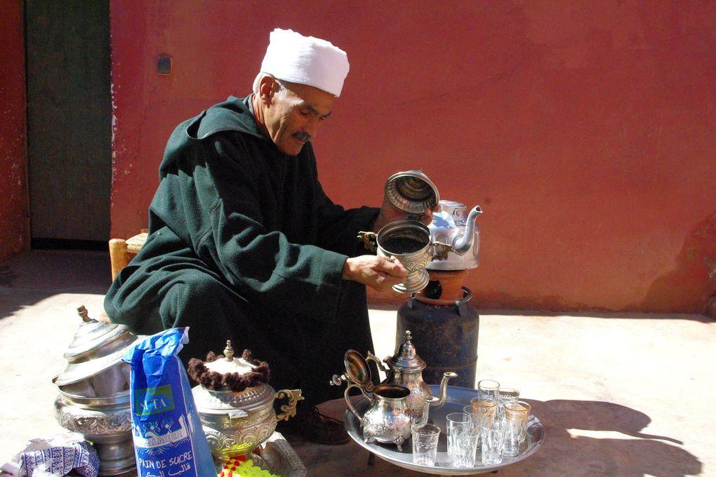 Thé à la menthe Berbère