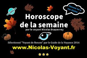 Horoscope des jours à venir en podcast par le médium Nicolas Duquerroy