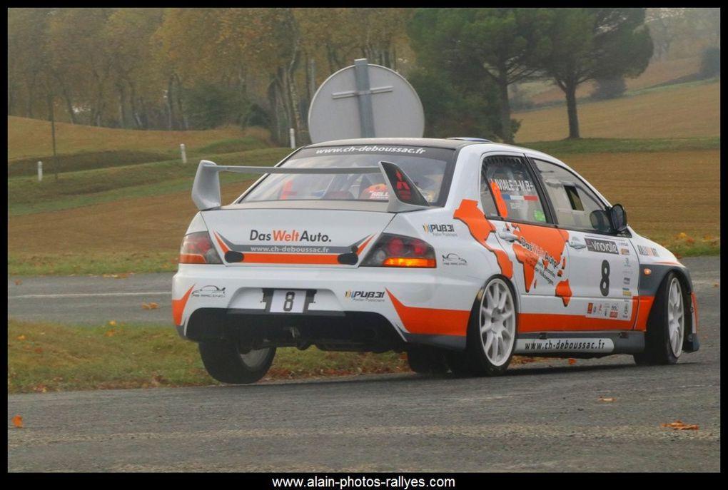 Rallye national comptant pour la coupe de France des rallyes 2018 et pour le comité Midi Pyrénées