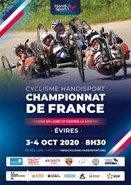 Cyclisme Handisport : Championnats de France les 3 et 4 octobre 2020 à Evires