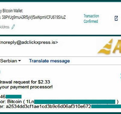 My No50 Withdrawal proof from AdClickXpressCrypto