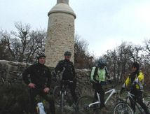 Grand froid...VTT quand même !!