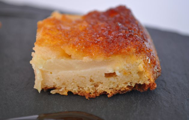 Gâteau moelleux fondant aux pommes sans matière grasse