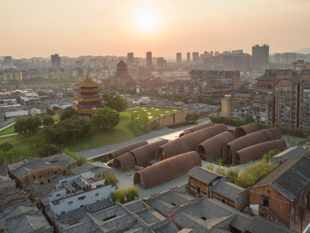 JINGDEZHEN IMPERIAL KILN MUSEUM BY STUDIO ZHU-PEI