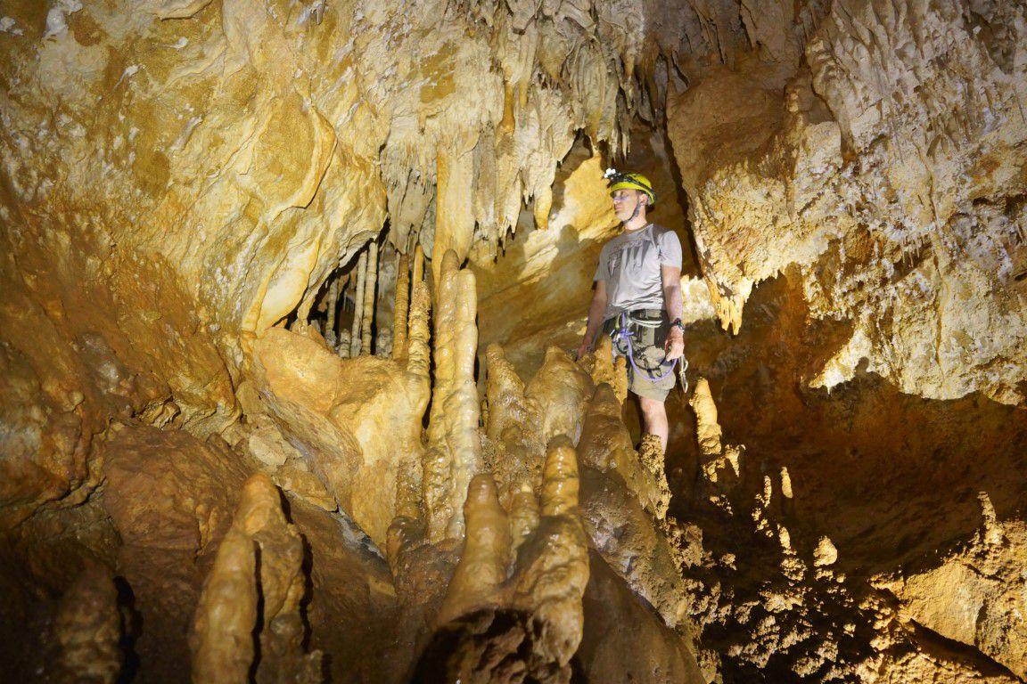 dans la grotte du 14 juillet
