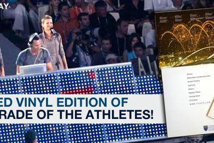 Tiësto: win a Limited Vinyl Edition of album: Parade Of The Athletes!