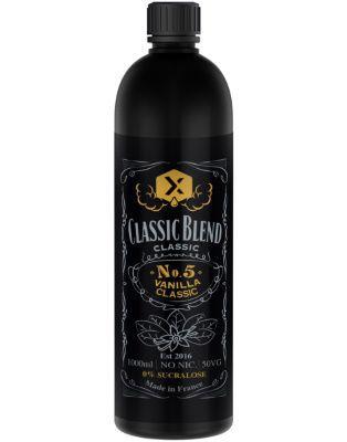 Test - Eliquide - Vanilla Classic gamme Classic Blend de chez Remix Juice