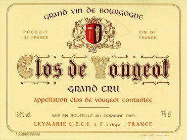 Vougeot et Clos de Vougeot: une histoire millénaire des vins de Bourgogne