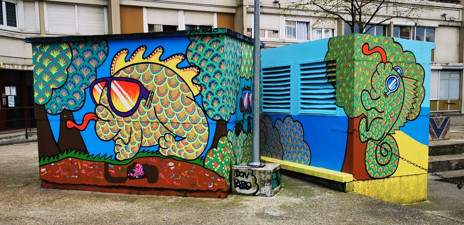 Street art: Le 27 à Pantin