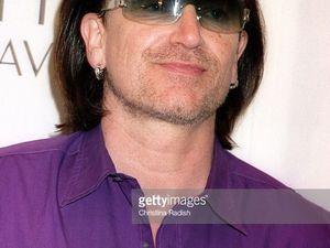 Bono - EDUN Launch Party -Los Angeles en Californie 25-03-2005