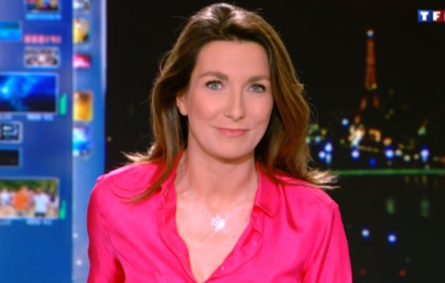 2013 01 04 - ANNE-CLAIRE COUDRAY - TF1 - LE 20H @20H00