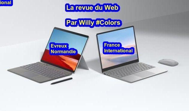 Evreux  : La revue du web du 17 octobre 2020 par Willy #Colors