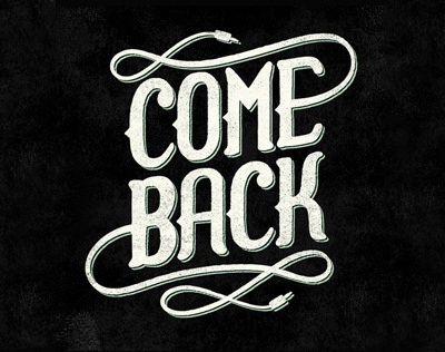 Retour !