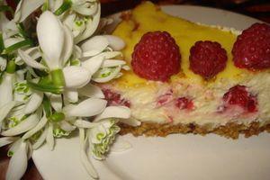 Cheesecake Citron –Framboises