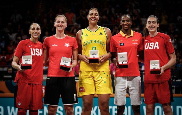 Stewart élue MVP de la Coupe du Monde 2018, Astou Ndour élue dans le cinq majeur