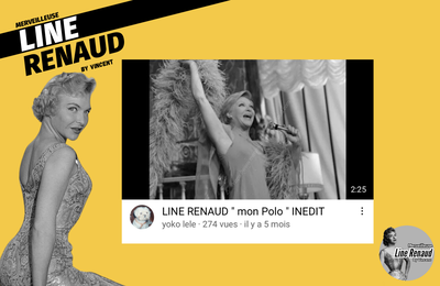 """AUDIO : Line RENAUD """" Mon Polo """" INEDIT"""
