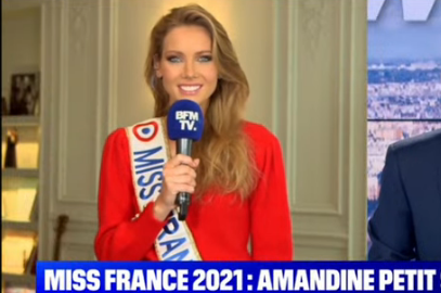 Interview d'Amandine Petit Miss France 2021
