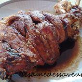 Gigot de mouton rôti - Le Sésame Des Saveurs