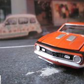 1968 CHEVY CAMARO JOHNNY LIGHTNING 1/64 - car-collector.net