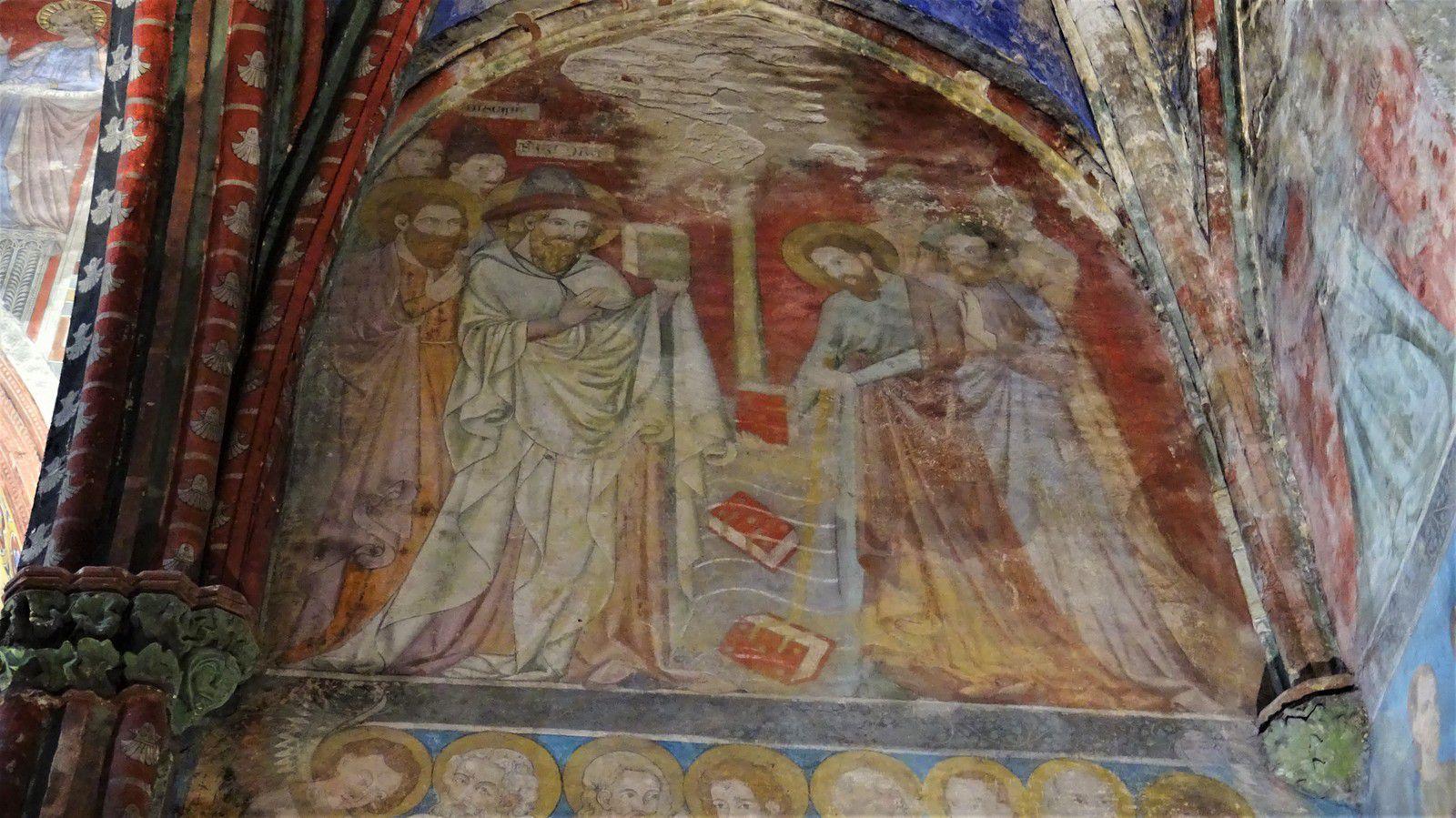 Saint Jacques contre le magicien Hermogène