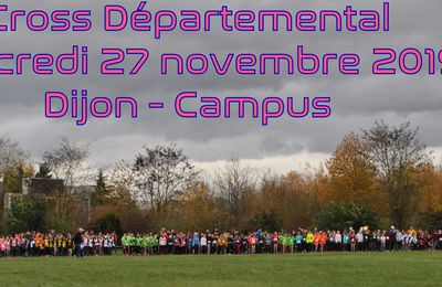 CHAMPIONNAT DEPARTEMENTAL CROSS 2019/2020