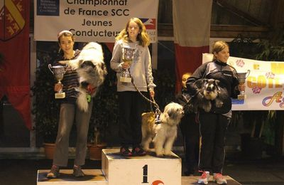 CLARA Championne de France AGILITY Junior 2014 !