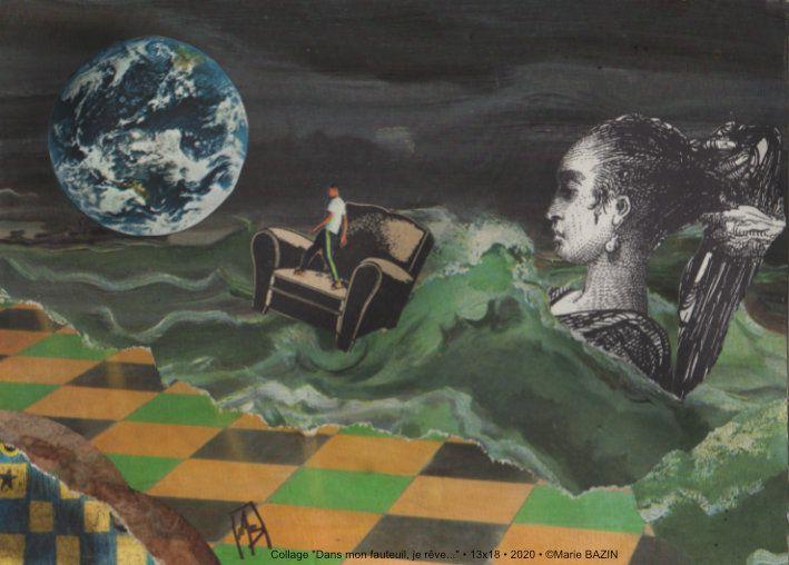 Quelques collages petits formats à retrouver à Tulle jusqu'au 24 décembre...Retrouvez tous les artistes sur le site de la Cour des Arts