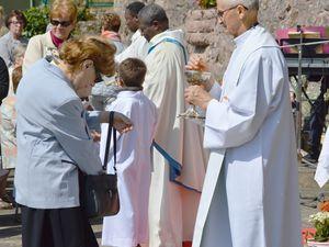 Messe du lundi de Pentecôte 2018 à la grotte Notre Dame d'Algrange