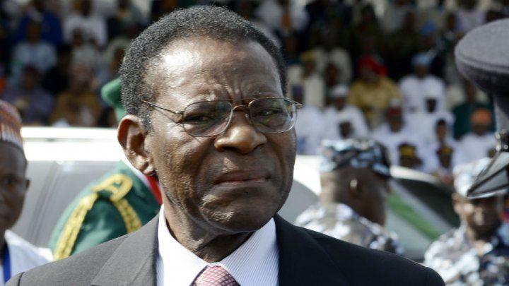 Imágenes Teodoro Obiang Nguema e  Idriss Deby, presidentes de la Guinea Ecuatorial y del Tchad, respectivamente.- El Muni.